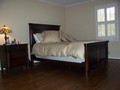 Master Bedroom with Hardwoods, new paint, and plantation shutters